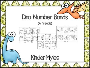 Dinosaur Number Bonds {Freebie}