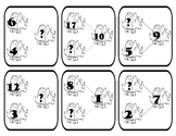 Dinosaur Number Families (French or English)