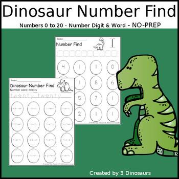Dinosaur Number Find