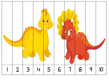 Dinosaur Number Puzzles