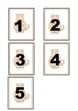 Dinosaur Numbers 1-5