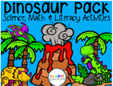Dinosaur Pack! Science, Math, and Literacy Dinosaur Activities