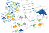 Dinosaur Pack - numbers, counting, matching, cutting & wri