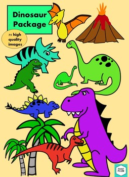 Dinosaur Package 75 Images!