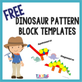 Dinosaur Pattern Block Templates