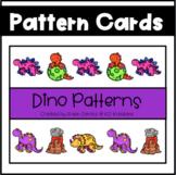 Dinosaur Pattern Cards