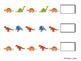 Dinosaur Patterning Cards -- 4 sets