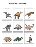 Dinosaur Picture Match