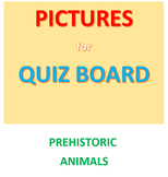 Dinosaur Pictures for the Quiz Board