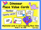 Dinosaur Place Value Cards - 161 pages