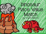 Dinosaur Place Value Match