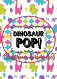 Dinosaur Pop Circle Time/Calendar Math Set Bonus Student J