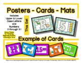 Dinosaur - Posters / Cards / Mats - Alphabet & Numbers *o