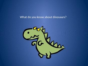 Dinosaur PowerPoint/Flashcards