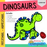 Dinosaur Preschool Activities   Lesson Plan-Comprehension-