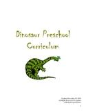 Dinosaur Preschool Curriculum