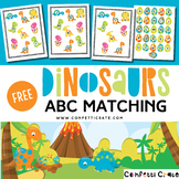 Dinosaur Preschool Literacy Activity