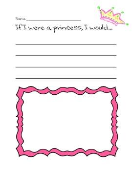 Dinosaur & Princess K-1 Writing Pack Freebie!