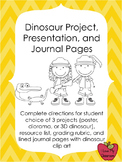 Dinosaur Project, Presentation, and Grading Rubric