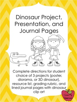 Dinosaur Project, Presentation, and Grading Rubric