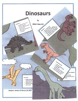 Dinosaur Projects for a Week