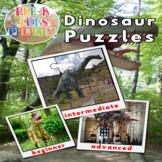 Dinosaur Preschool Puzzles Printables | Fine Motor Skills