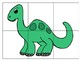 Dinosaur Puzzle Token Economy (Includes 18 point charts)