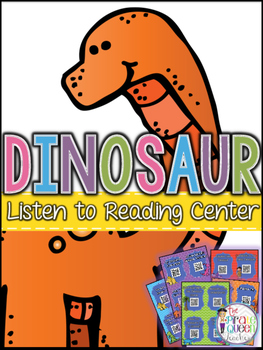 Dinosaur QR Codes: 20 Stories for Daily Five Listen to Rea