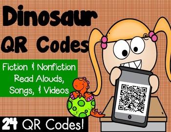 Dinosaur QR Codes