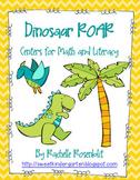 Dinosaur ROAR - Prehistoric Centers for Math and Literacy
