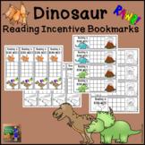 Dinosaur Reading Incentive Bookmarks