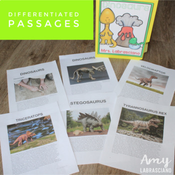 Dinosaur Reading Passages