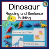 Dinosaur Reading and Sentence Building