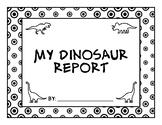 Dinosaur Report Lite