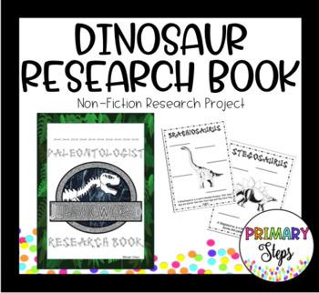Dinosaur Research Book