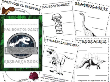 Dinosaur Research Book