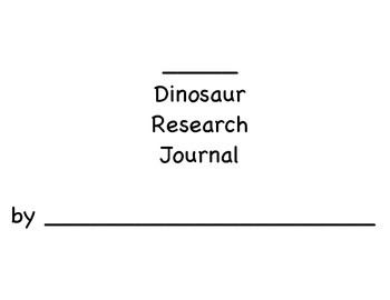 Dinosaur Research Journal