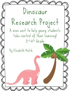 Dinosaur Research Mini Unit