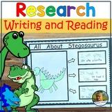 STEM Animal Research Opinion Writing Dinosaur Research
