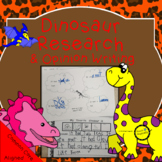 Research and Opinion Writing Dinosaur Themed