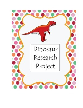 Dinosaur Research Project Pack