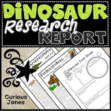 Dinosaur Research Report - Nonfiction Passages to Read, Ta
