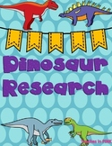 Dinosaur Research using pebble go (Pteranodon)