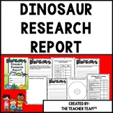 Dinosaurs | Dinosaur Research Report