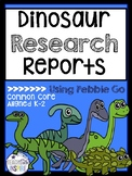 Dinosaur Research Report--Using Pebble Go