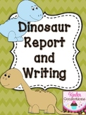 Dinosaur Research Report and Writing