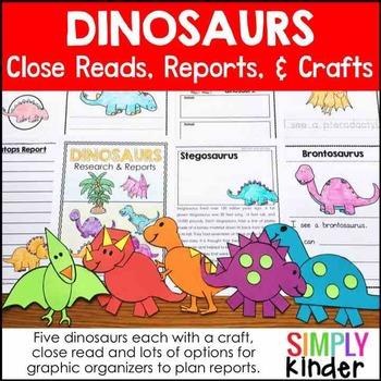 Dinosaur Activities Kindergarten - Research