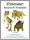 Dinosaur Research Template EDITABLE