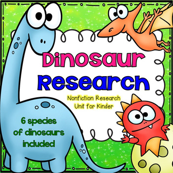 Dinosaur Research for Kinder