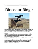 Dinosaur Ridge - Colorado - history informational article facts questions review